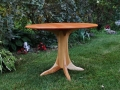 Round Cherry Table with Ash Base - 2.jpg