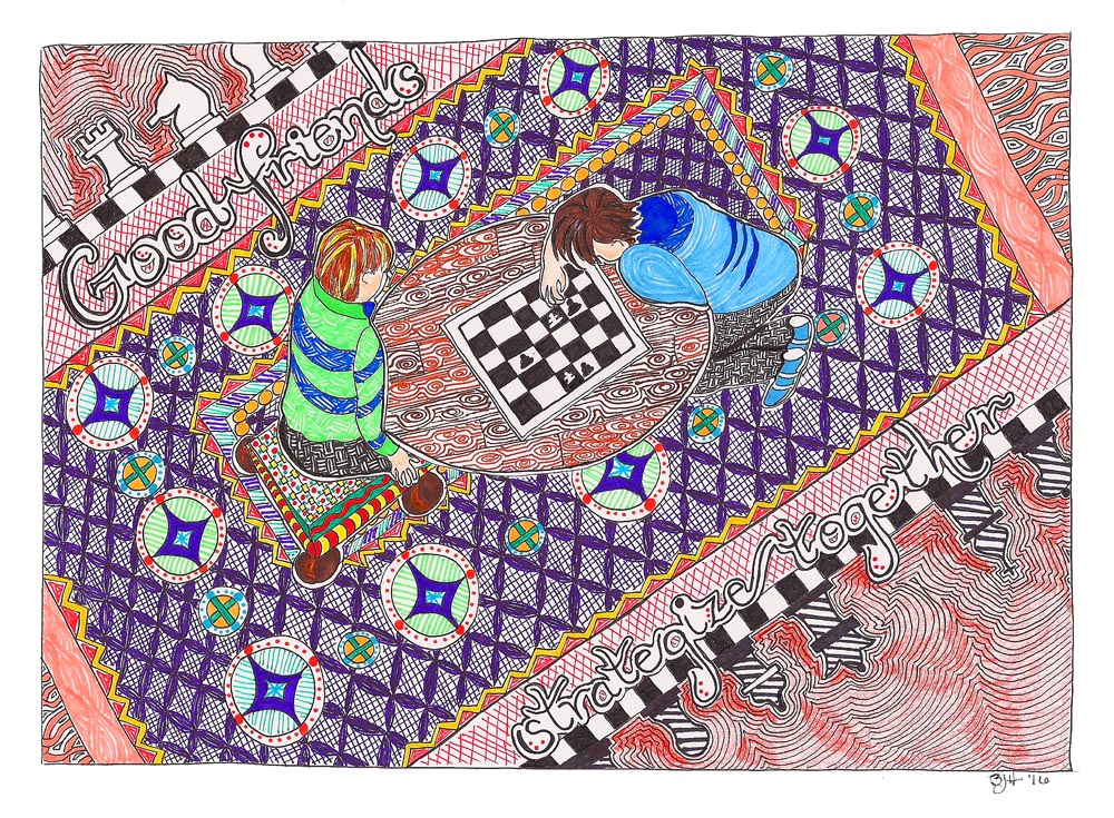081 Friendship Series - Chess