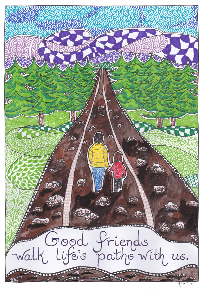 084 Friendship Series - Paths
