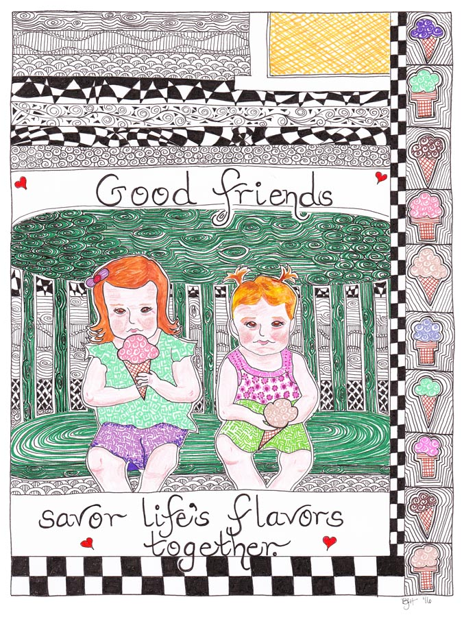 085 Friendship Series - Lifes Flavors