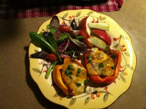 Stuffed Peppers Wide
