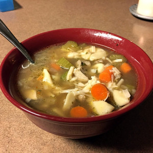 Savory Chicken Tortellini Soup 2