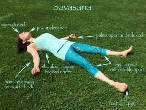 How to Savasana