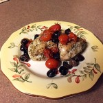 Chicken with Toms and Olives